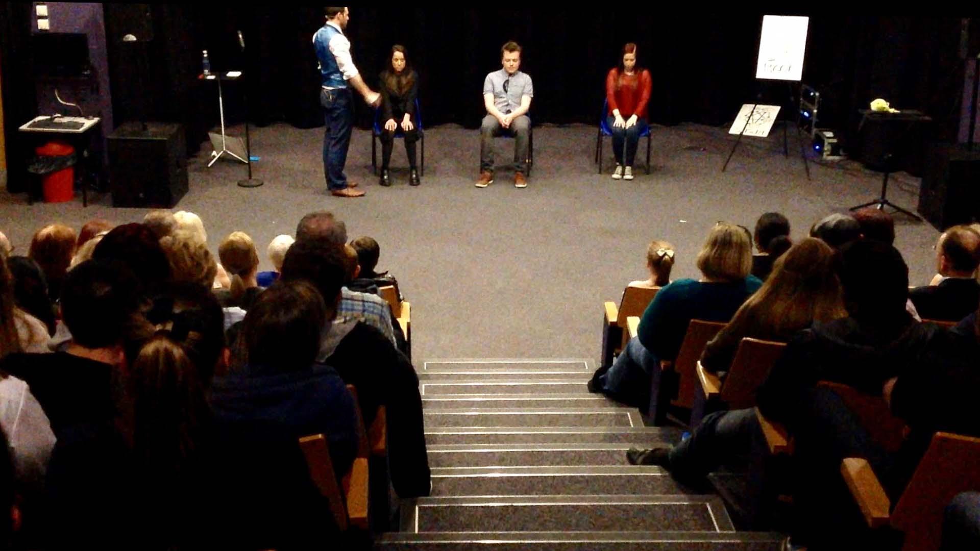 edinburgh fringe audience view of mind games