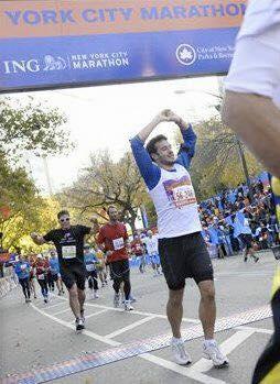 Aaron Calvert New York Marathon