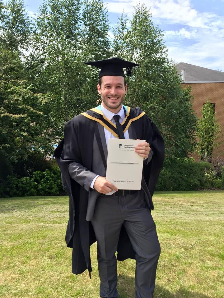 aaron calvert graduation