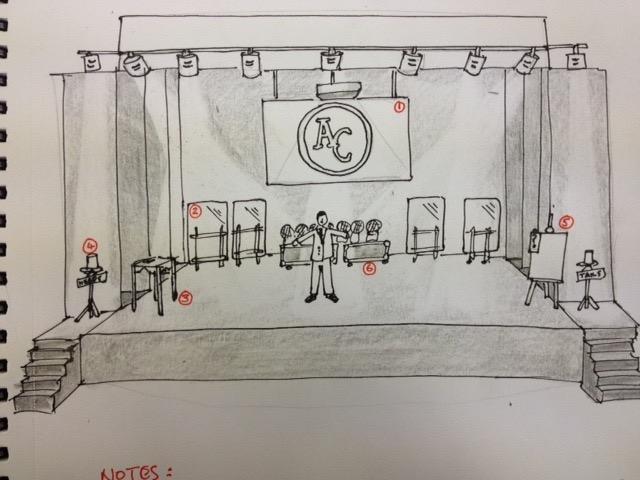 Aaron Calvert mind games sketch