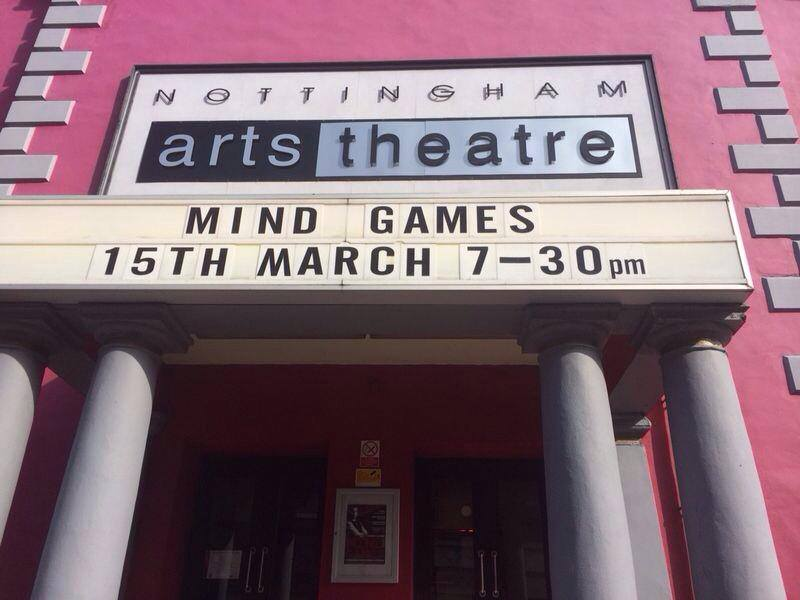 Mind Games Nottingham outside