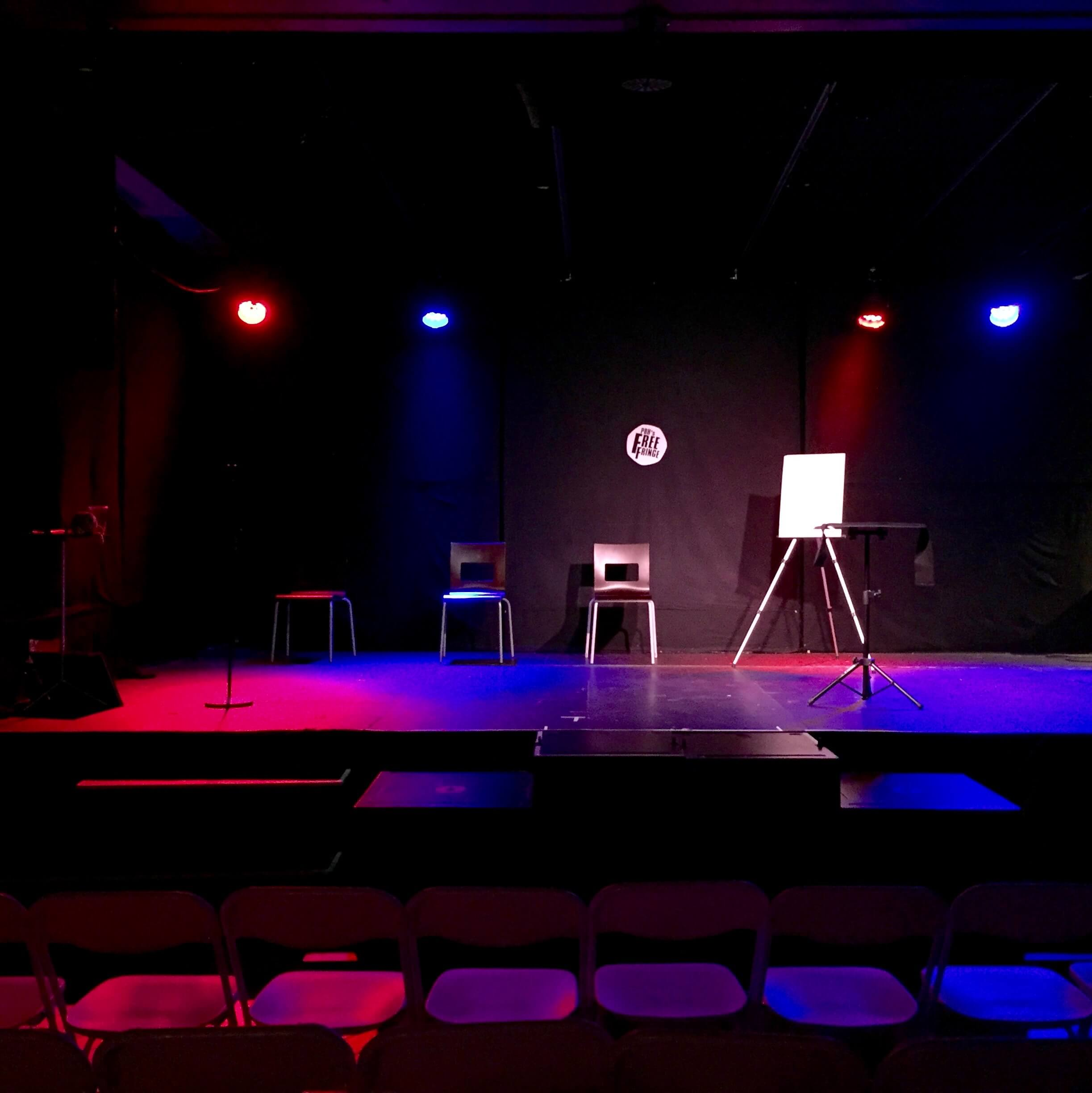 the stage is set for the edinburgh fringe magic show awaken