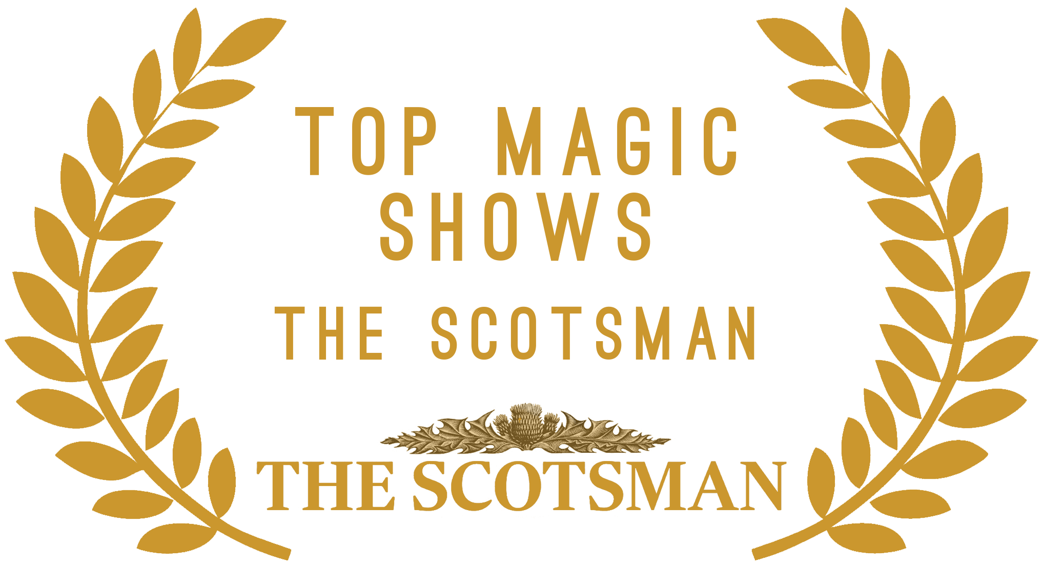 The scotsman top magic show award for edinburgh fringe magic show at edfringe