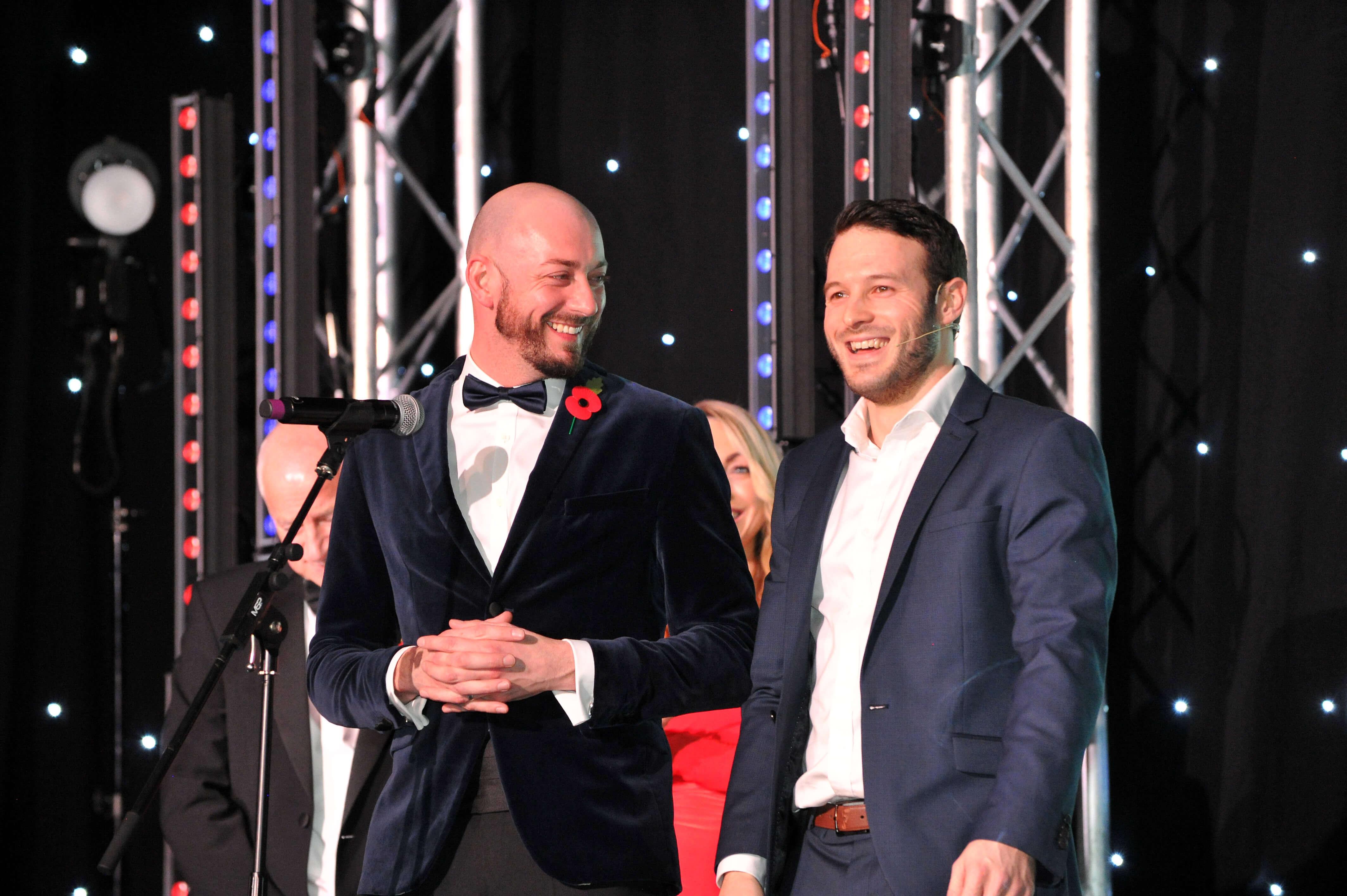 Aaron Calvert Manchester Corporate Entertainment Business Awards